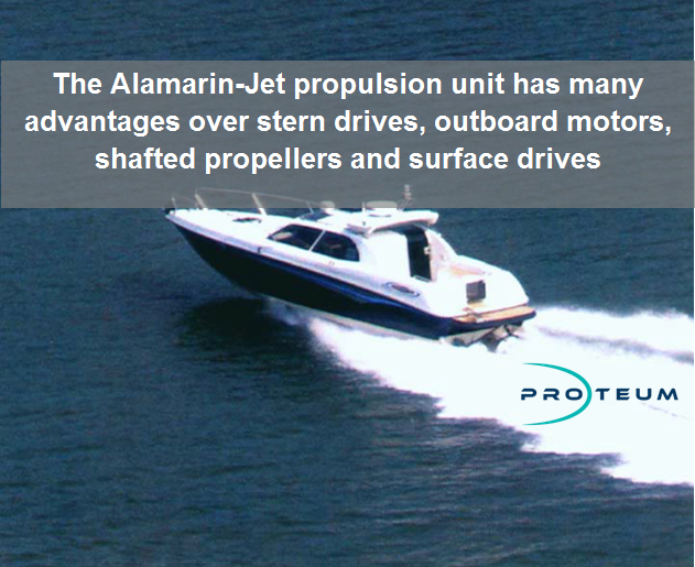 Alamarin Jet Water Jet Propulsion Unit Buy From Uk Supplier Proteum