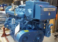 Moteurs Baudouin Marine Diesel Engine 6 M26.2, 368KW