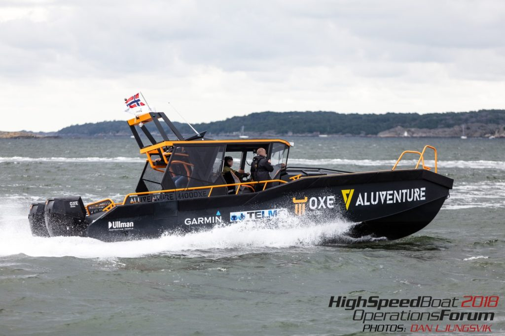 The OXE Diesel outboard engines demonstrate their capabilities with a 4,000km round trip on the AluVenture from Oslo to Seawork in Southampton, London, Scotland and back. Buy OXE Diesel engines from UK distributor Proteum.