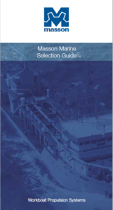 Thumbnail of the Masson Marine Selection Guide of Workboat Propulsion Systems